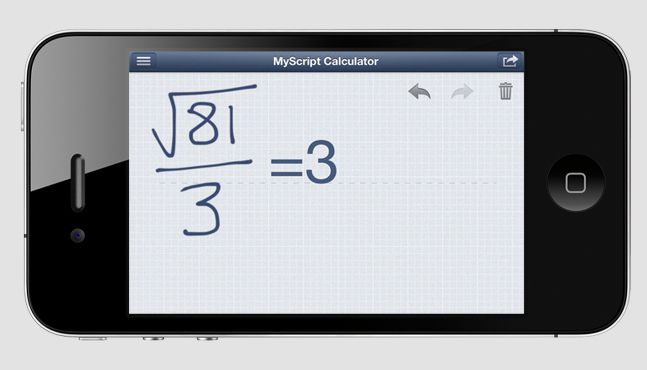 Calculator Iphone App Lets You Use Your Handwriting Instead Of