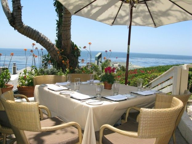 Outdoor Dining At Geoffrey S In Malibu Ca