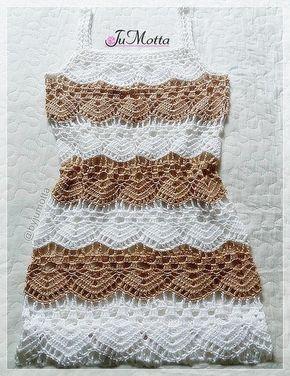 009b135bb5 Compre Vestido ou Saída de praia de Crochê. no Elo7 por R  150