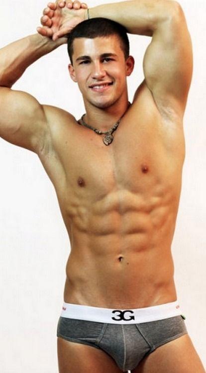 Muscular euro gays get hot