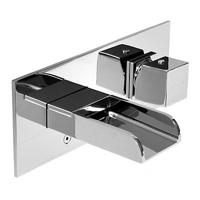 The Love single handle wall mount lavatory faucet by Valley Acrylic ...