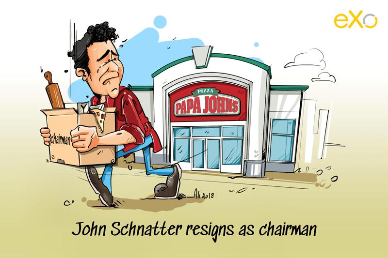 Papa John S Founder Resigns As Chairman Papa Johns Papa Resignation