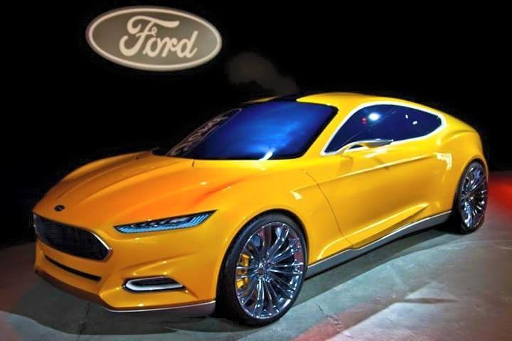The All New Ford Capri Returns Slight Look Of An Aston Martin Ford Capri Ford Rs British Cars