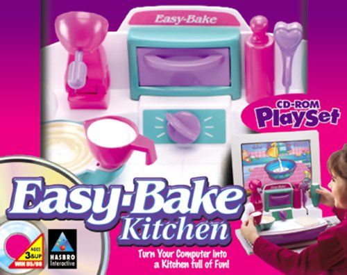 Easy bake kitchen playset pc video games for Playskool kitchen set