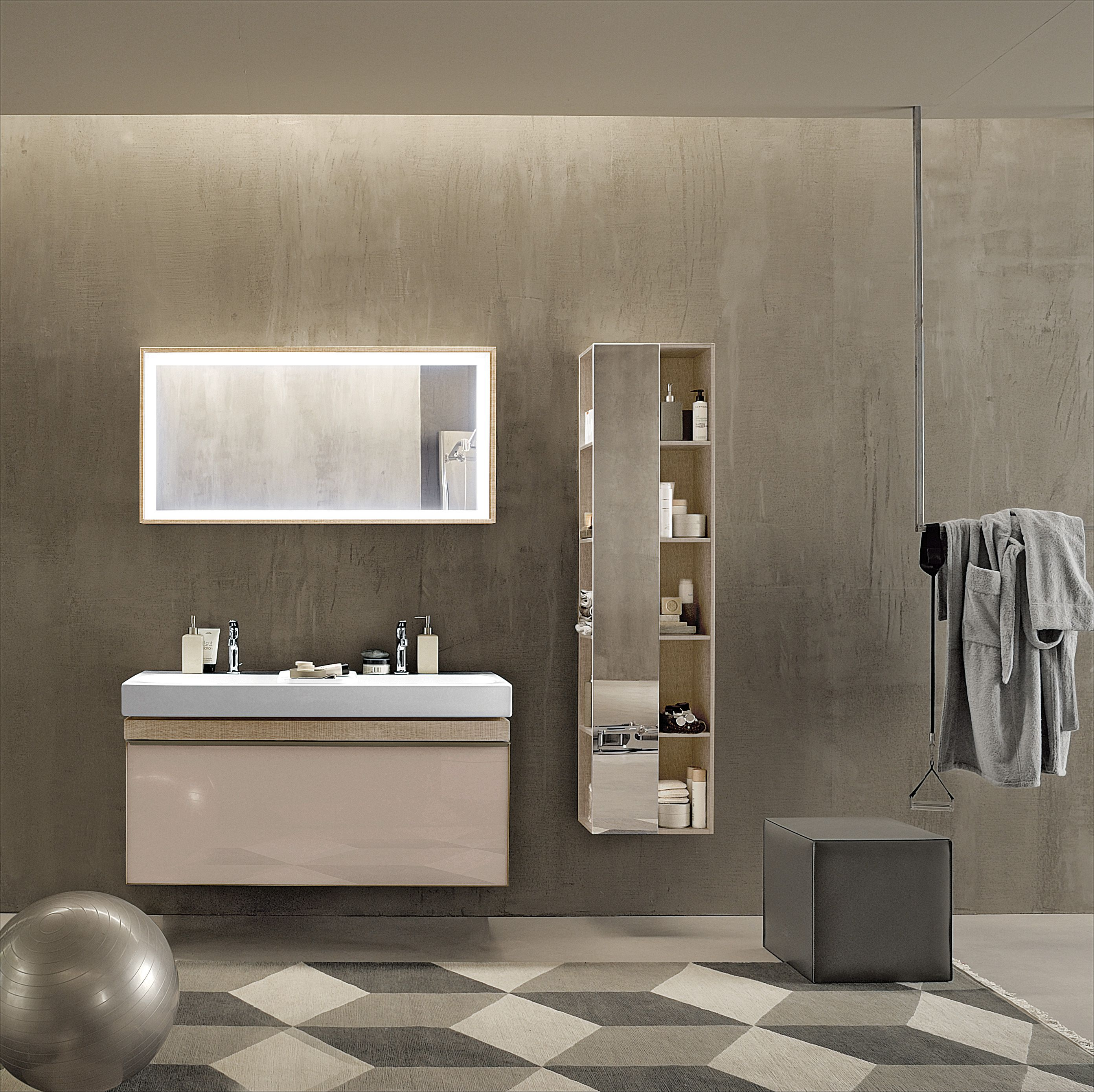 badkameropstelling badmeubel spiegelkast badkamer inspiratie