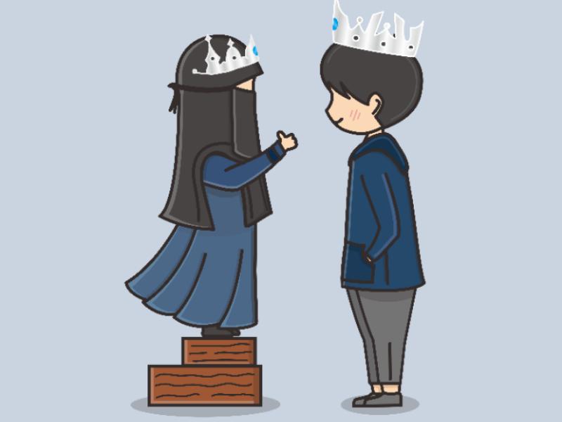 Simi Cua 13 In 2021 Girls Cartoon Art Islamic Cartoon Cute Couple Cartoon