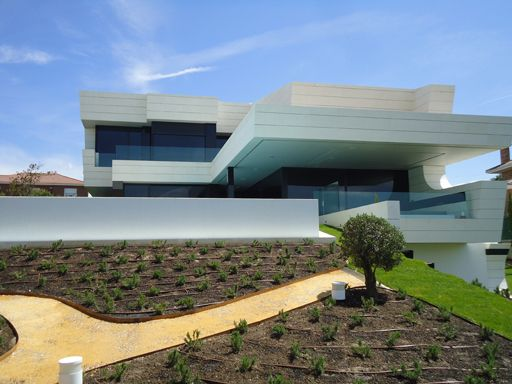 A cero joaquin torres architects vivienda balcony maria for Casas prefabricadas de diseno joaquin torres