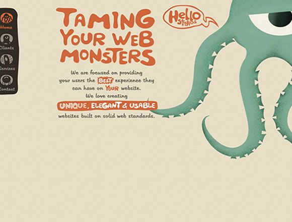 Examples Of Hand Drawn Elements In Web Design Web Design How To Draw Hands Cool Websites