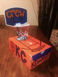 OKC Thunder Basketball Valentines Box