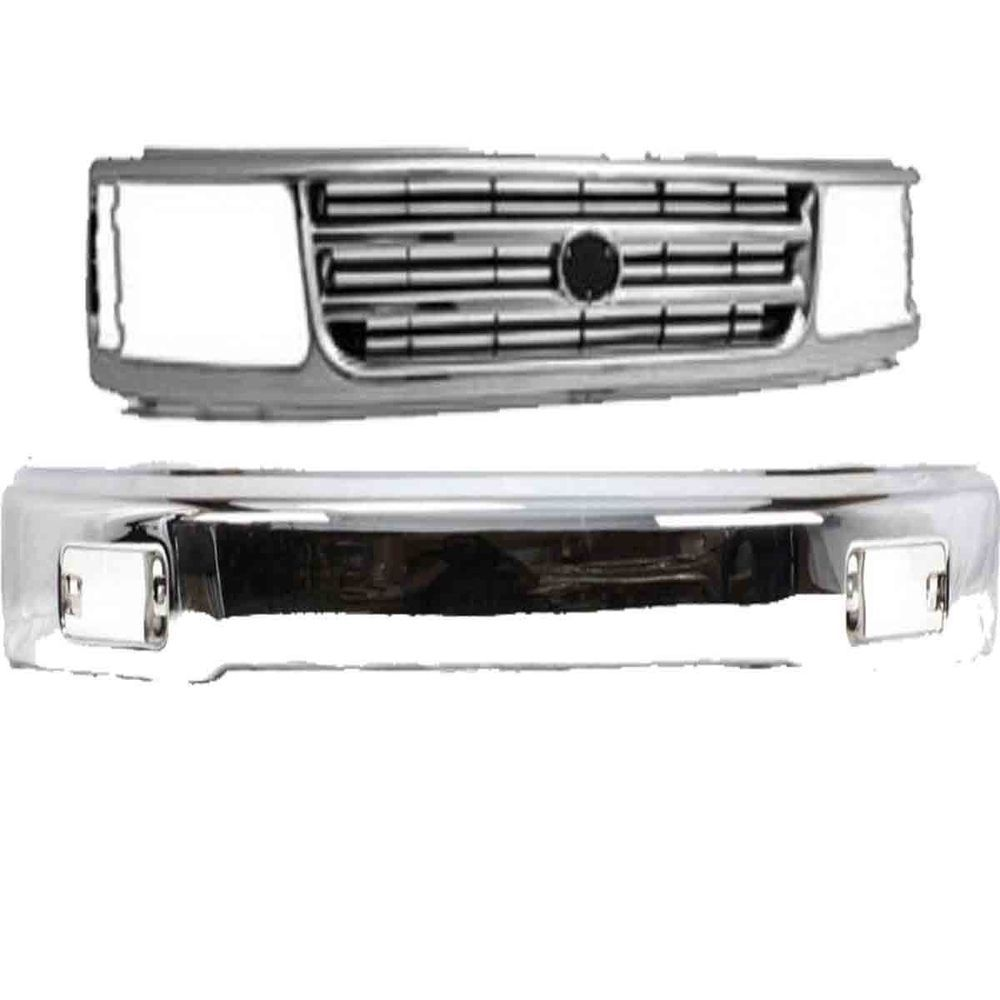 New For Toyota T100 Fits 1993 1998 Front Grille Bumper To1200192 To1002127 Brandnew100 Grilles Bumpers Toyota