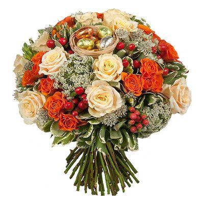 Bouquet De Fleurs Aquarelle Com Le Bouquet De Paques Livraison