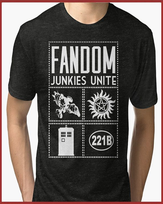 Wear your fandom loud and proud!! For the fan of everything geeky and nerdy, here is our Super Mega Fandom Tri-blend T-Shirt   Sizing options