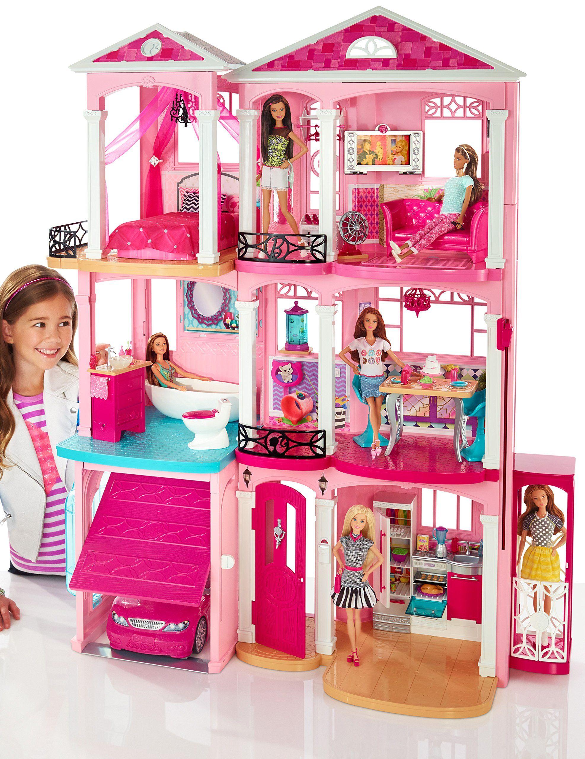 Amazon.com: Barbie Dreamhouse: Toys \u0026 Games   Barbie, Case delle