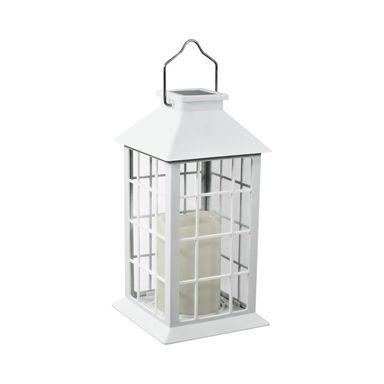Lampa Solarna Latarenka Ip44 Biala Polux Oswietlenie Ogrodowe Solarne W Atrakcyjnej Cenie W Sklepach Leroy Merlin Lamp Decor Home