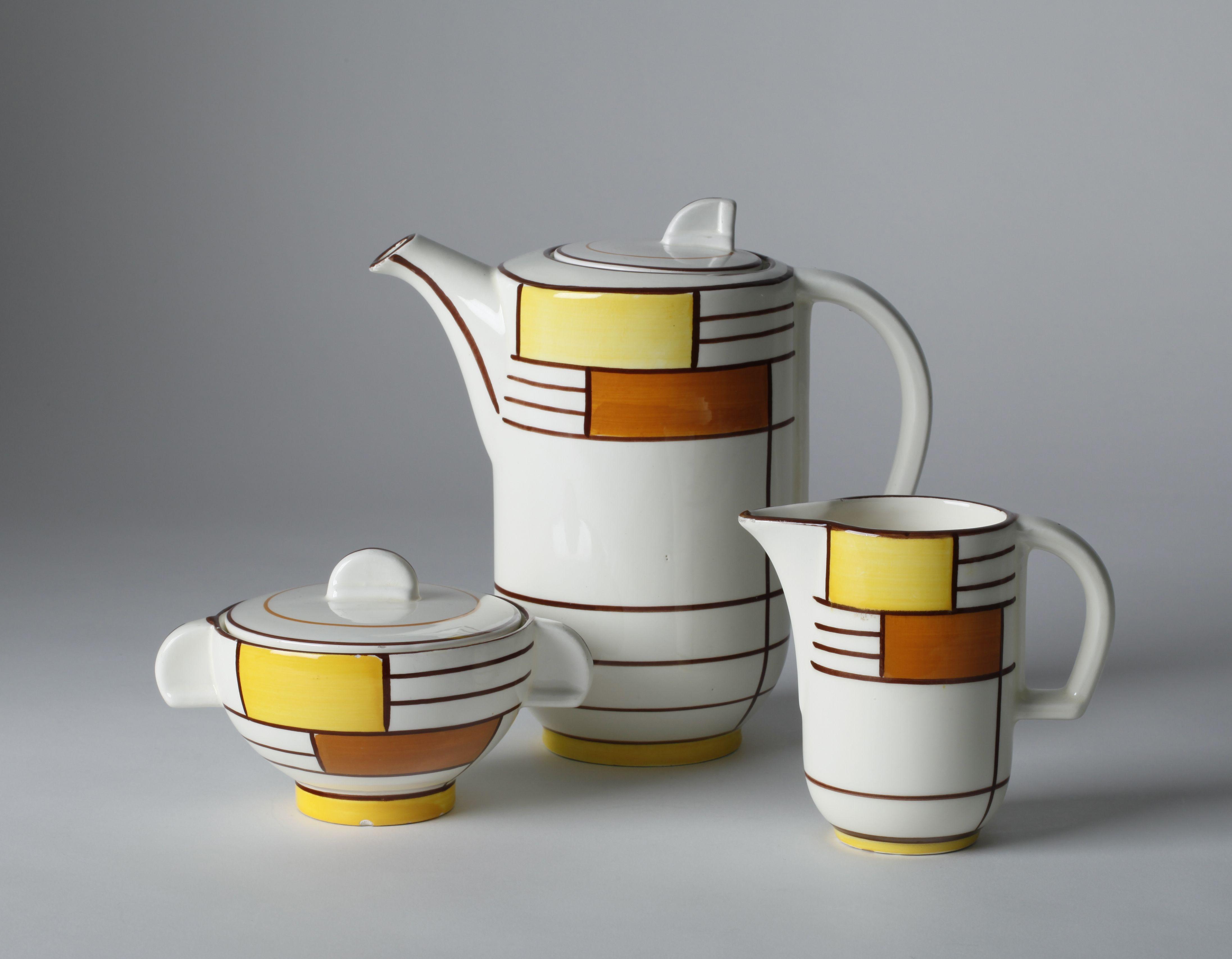 Eva Zeisel Kaffeeservice Form 3269 Dekor 3526 1929