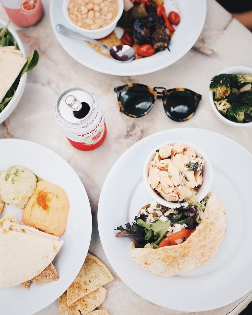 It\'s lunch time! Wish I was devouring this Mediterranean feast from ...