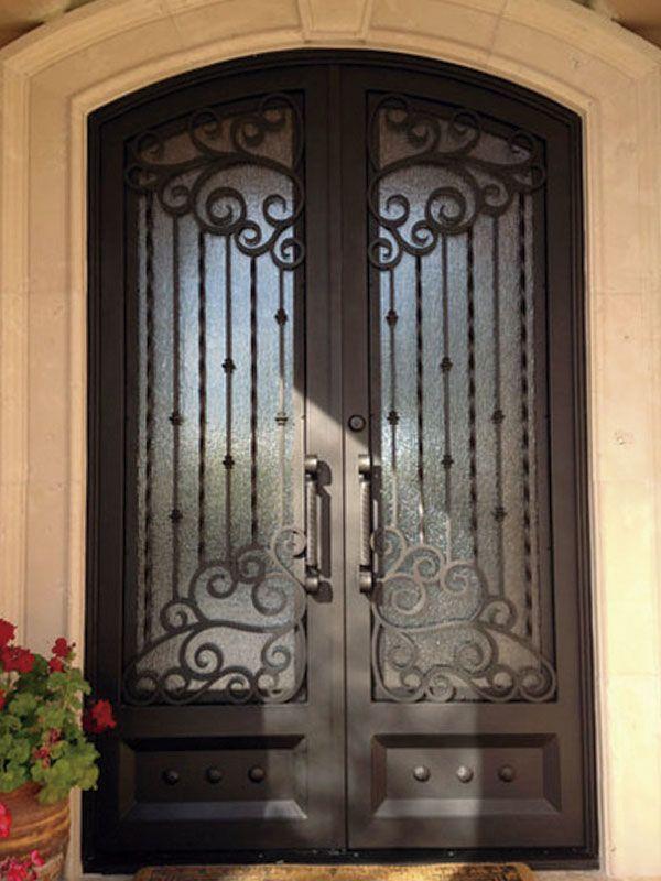 Herreria id 3 puertas de fierro en 2019 for Puertas principales de casas