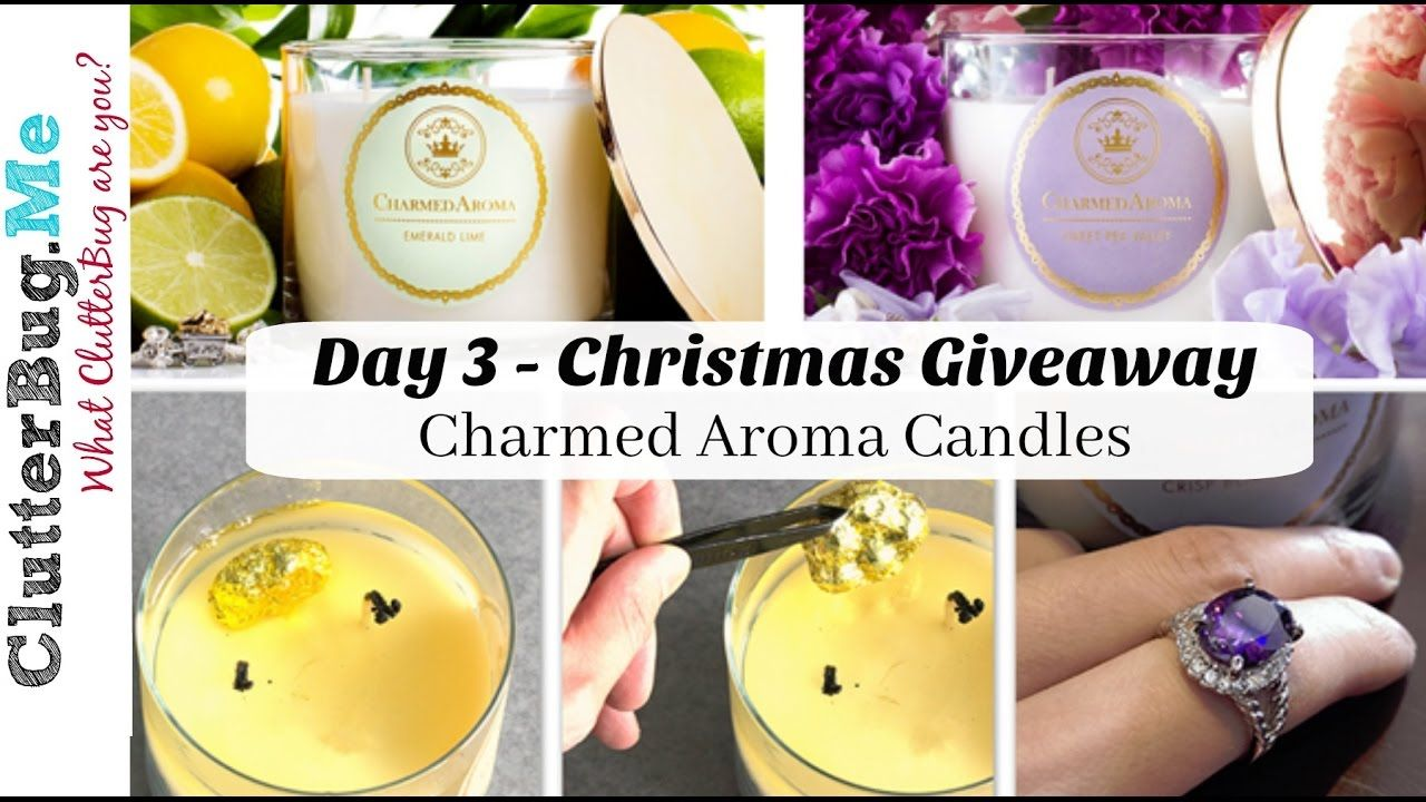 Day 3 12 giveaways of christmas charmed aroma