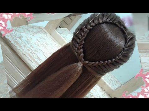 peinados recogidos faciles para cabello largo bonitos y