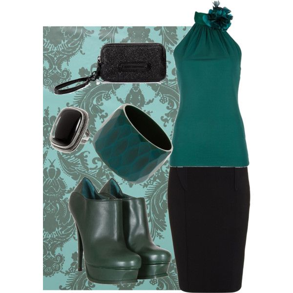 teal...minus shoes