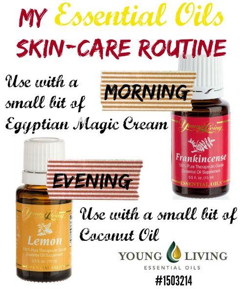 My Essential Oils Skin Routine