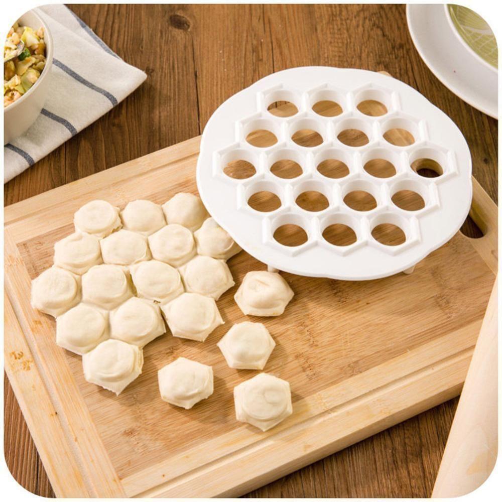 Edelstahl Dumpling Mould Meat Pie Press Dough Pasty Maker Mold Kitchen Kit