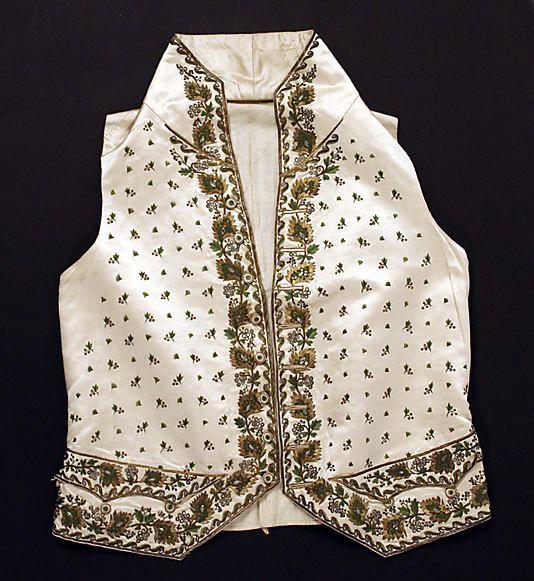 Waistcoat  Date: early 19th century