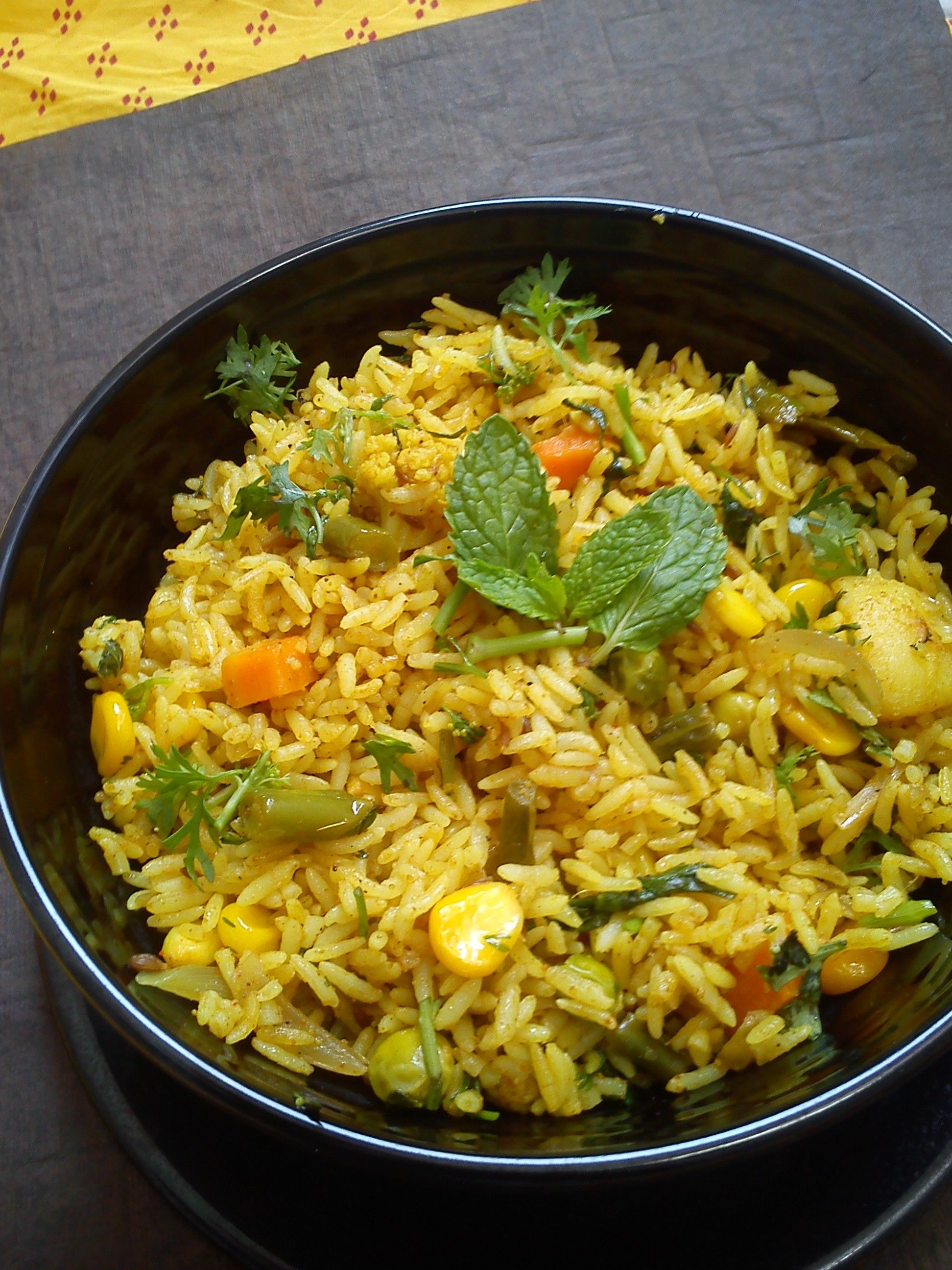 Tahari traditional uttar pradesh recipe by chaitra aathidhyam tahari traditional uttar pradesh recipe by chaitra aathidhyam recipe biryani recipes and food forumfinder Images