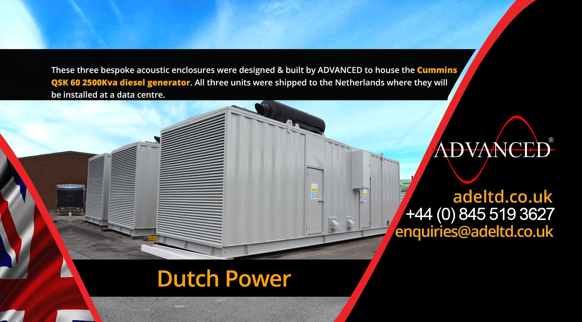 Visit adeltd for more information on Diesel Generators