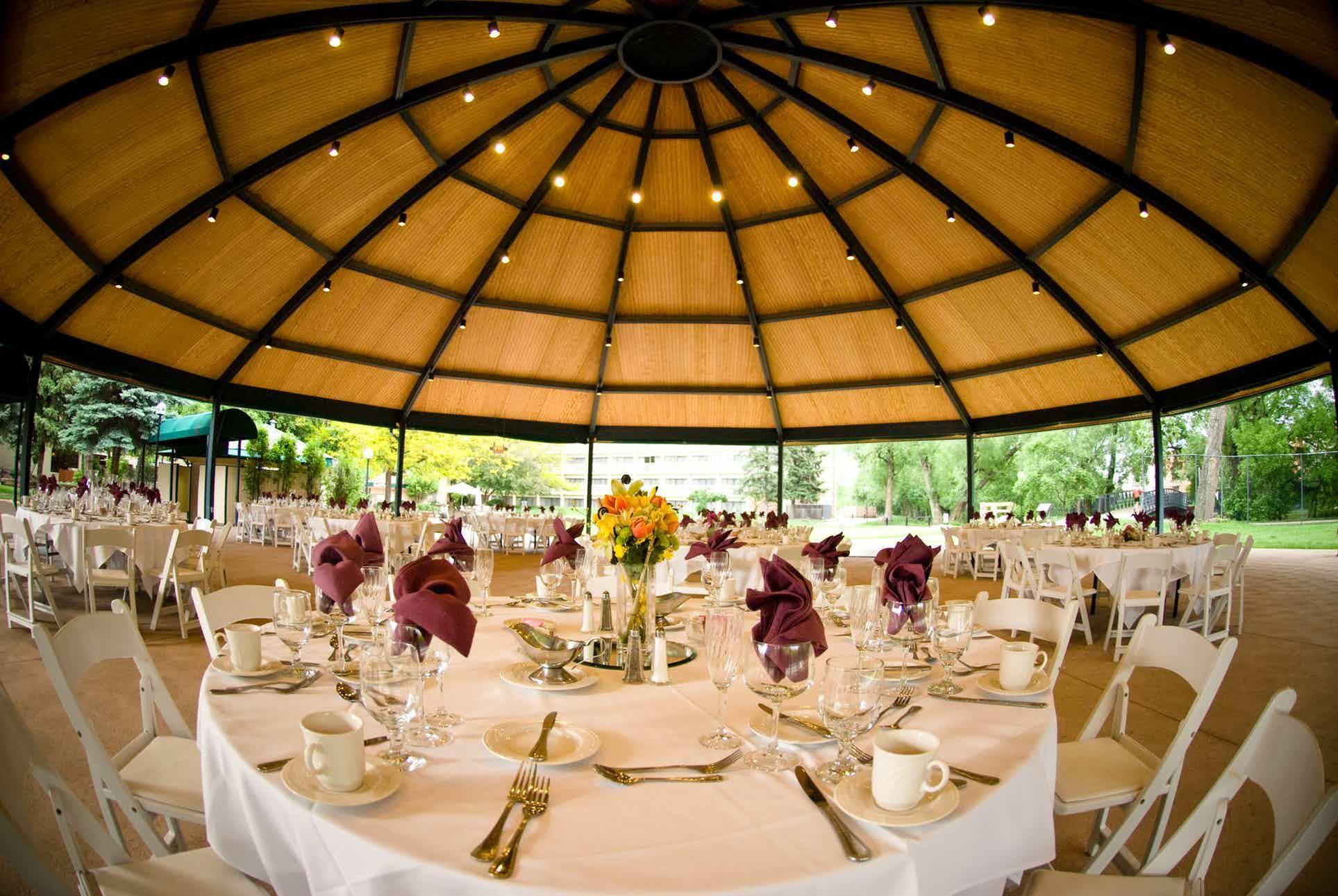 Millennium Harvest House Boulder Weddings Denver Wedding Venue