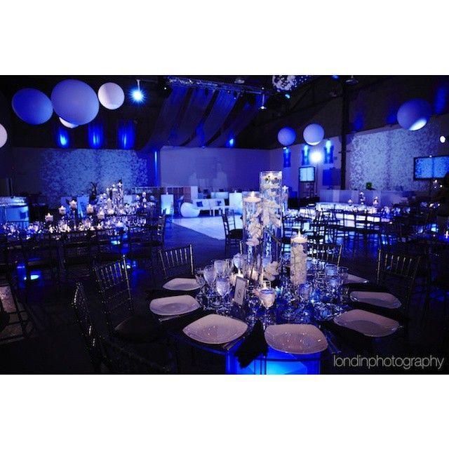 Midnight Blue Wedding Decorations: Midnight Blue And Purple Wedding Decor