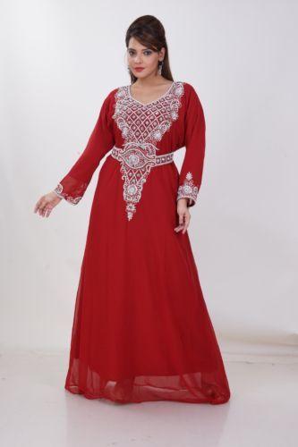 Dubai-Kaftan-Farasha-Moroccon-Islamic-Abaya-dress-Party-wear-Gowns-1989