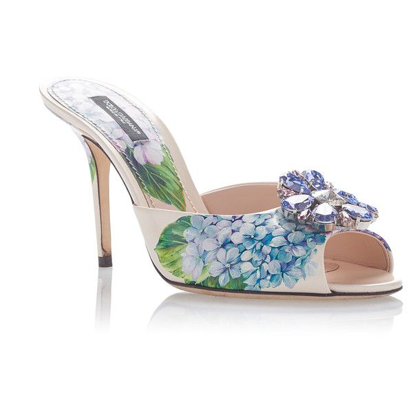 Dolce & Gabbana printed mules buy cheap original cheap price outlet sale 100% authentic uUH0hZKNBC