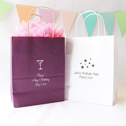 Personalized Birthday Gift Bags By Beau Coup