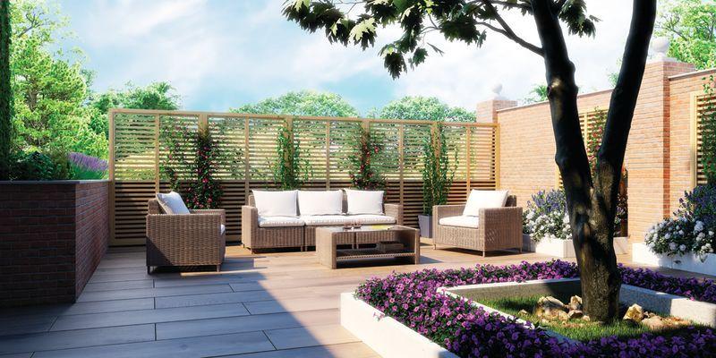 Come ricavare un angolo di relax sul terrazzo fai da te ...