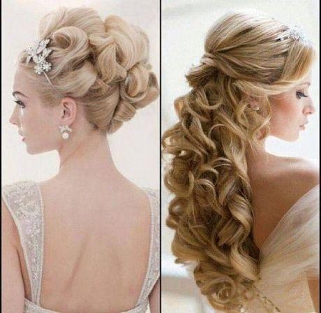 Peinados novia tomados