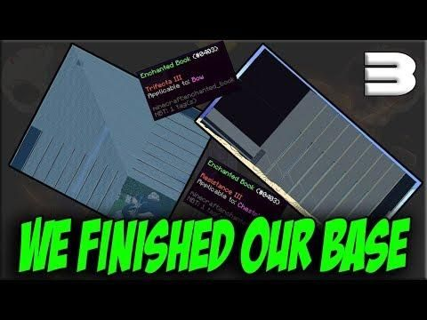 OUR BASE IS DONE VanityMC Minecraft Factions Minecraft - Minecraft factions spielen
