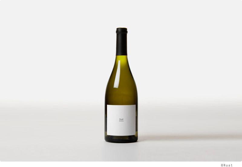 [Nuat White Wine] 와인라벨도 이렇게 미니멀해질 수 있다니!