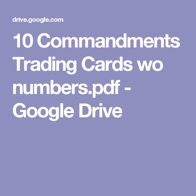 Trading By Numbers Pdf