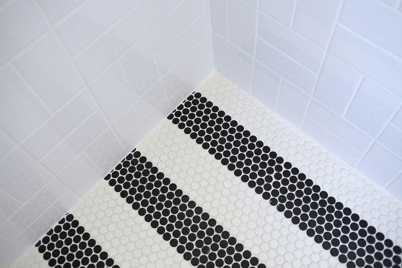 Progress Report Master Bathroom Pinterest Penny Tile Master