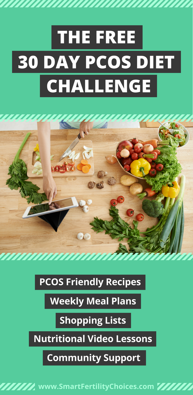 pcos diet plan challenge