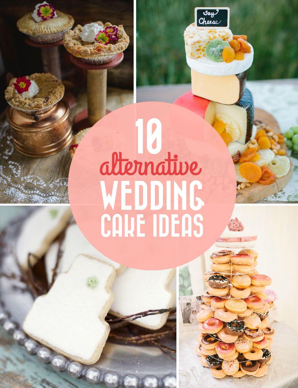 10 Alternative Wedding Cake Ideas / Polkadot Stationery