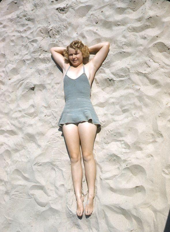 Ocean City, Maryland 1941 - Kodachrome Slide
