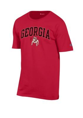 Champion Ncaa Georgia Bulldogs Heritage Vault T-Shirt. The Georgia Bulldogs Heritage t-shirt from Champion will keep you comfortable while showing your team spirit while running errands or heading to the game.