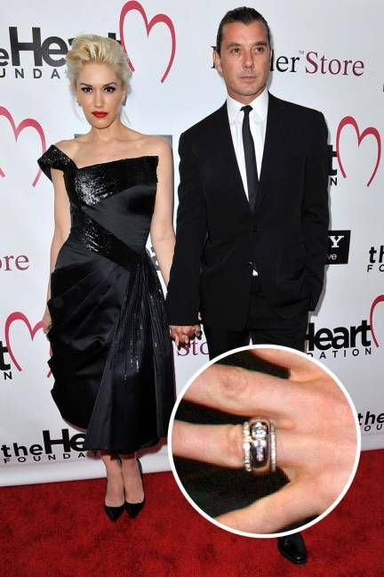 Charmant Gwen Stefani And Gavin Rossdale Gavin Rossdale Designed This Unique  Diamond Studded Gold Ring Before