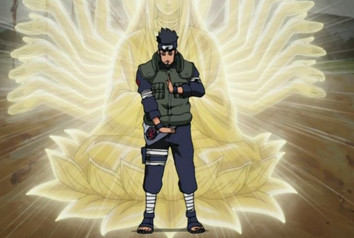 "After Shikamaru defeated Hidan, Asuma appeared again in the form of image and said ""well done"" to him.  http://naruto.oasgames.com/en/"