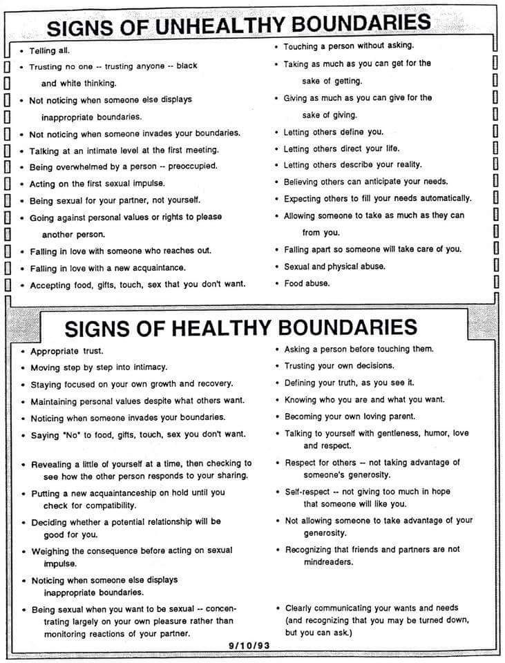 Printable Worksheets worksheets on boundaries : Boundaries. | Social Skills Counseling and Coaching | Pinterest ...
