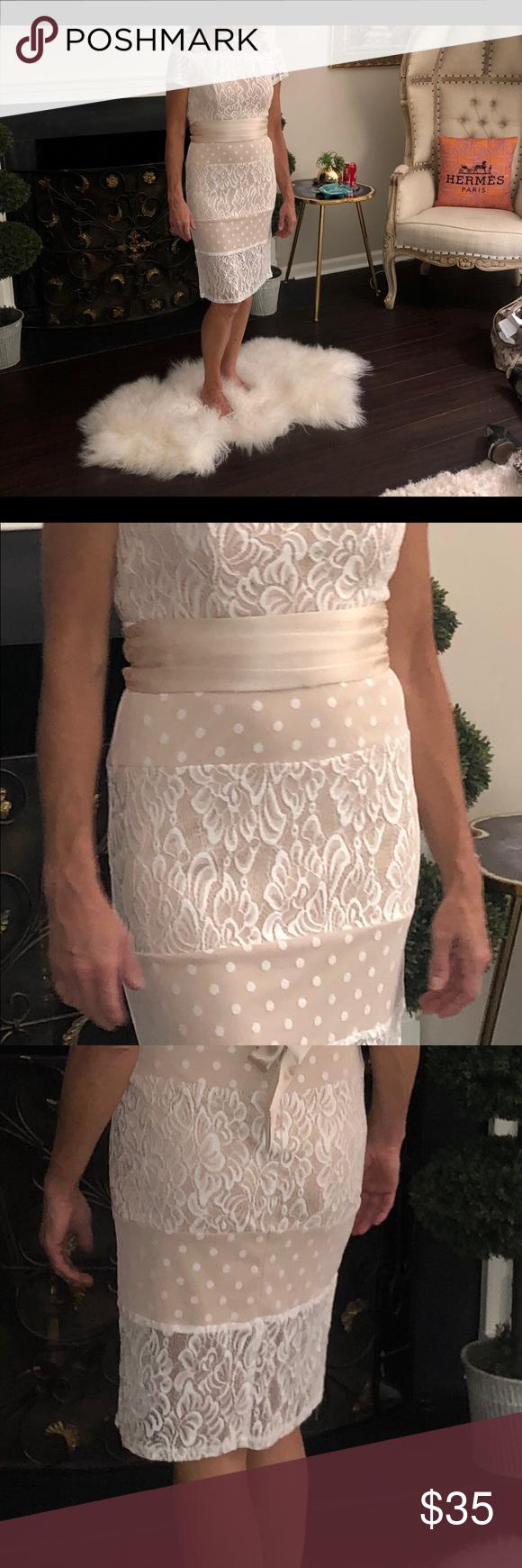 Elegant Cream White Lace Overlay Dress Lace Overlay Dress White Lace Dresses [ 1740 x 580 Pixel ]