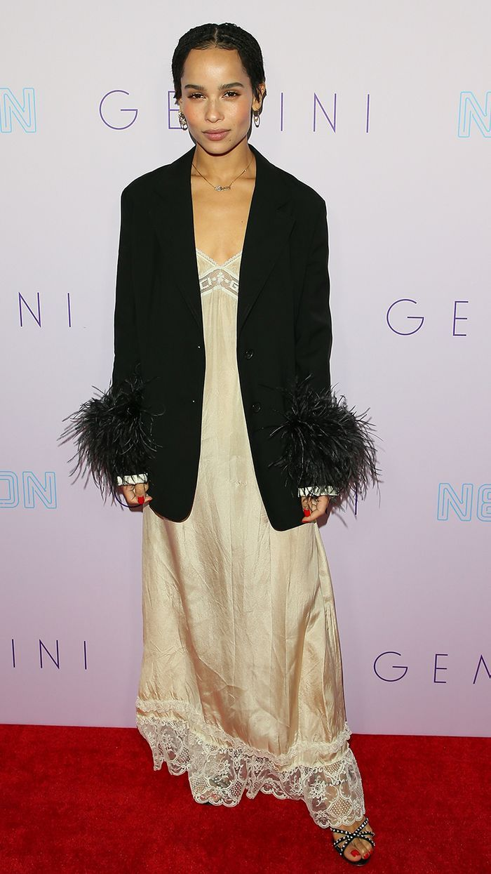 30 Outfits That Prove I'm Right to Be Obsessed With Zoë Kravitz #zoekravitzstyle