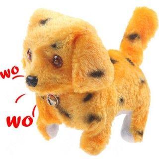 Funny Electric Walking Barking Plush Puppy Dog Toy